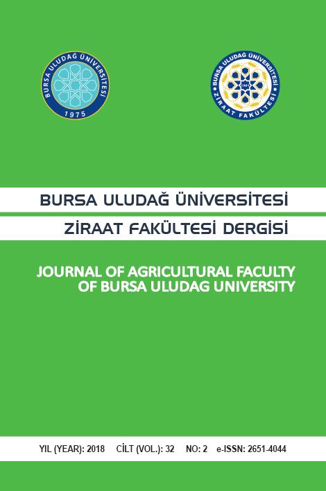 Bursa Uludağ Üniversitesi Ziraat Fakültesi Dergisi