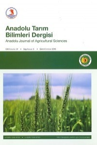 Anadolu Journal of Agricultural Sciences