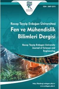 Recep Tayyip Erdogan University Journal of Science and Engineering