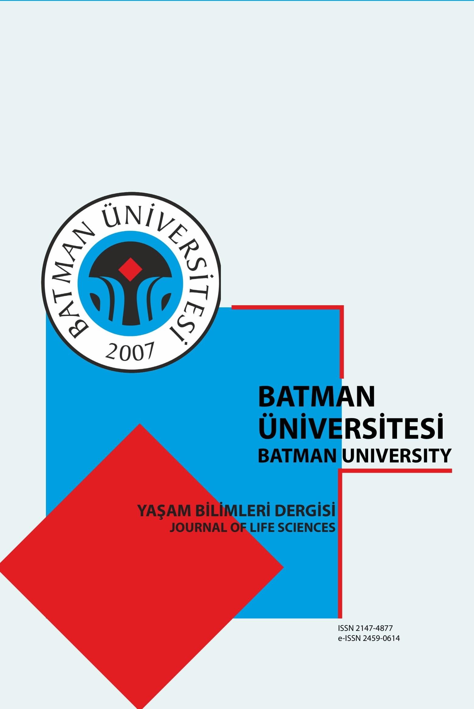 Batman University Journal of Life Sciences