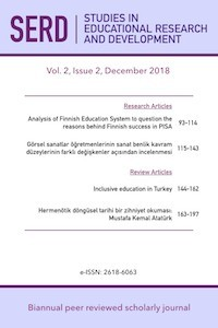 Studies in Educational Research and Development