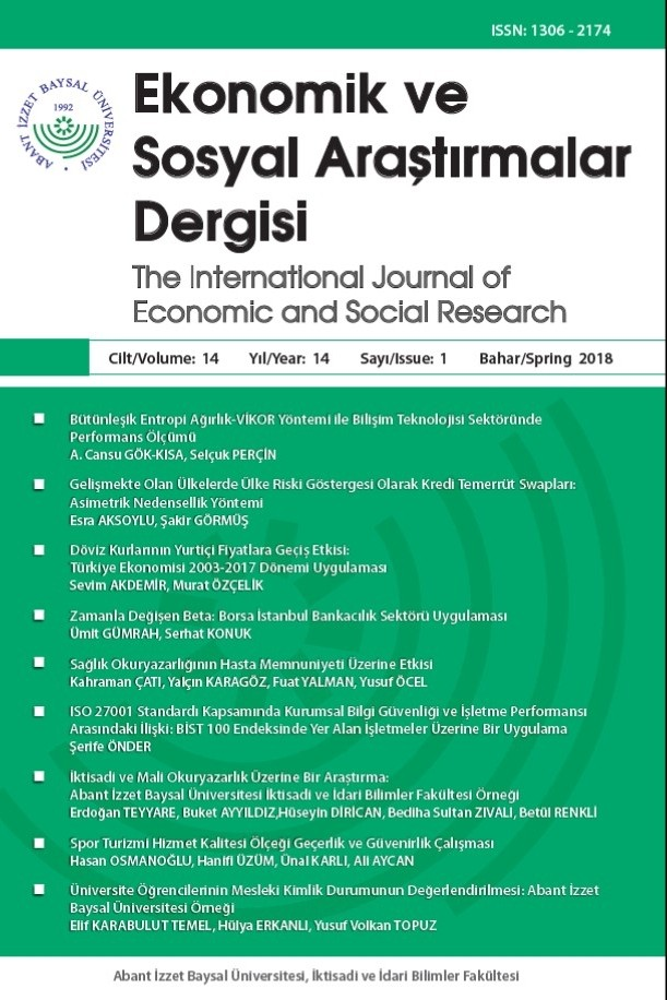 The International Journal of Economic and Social Research