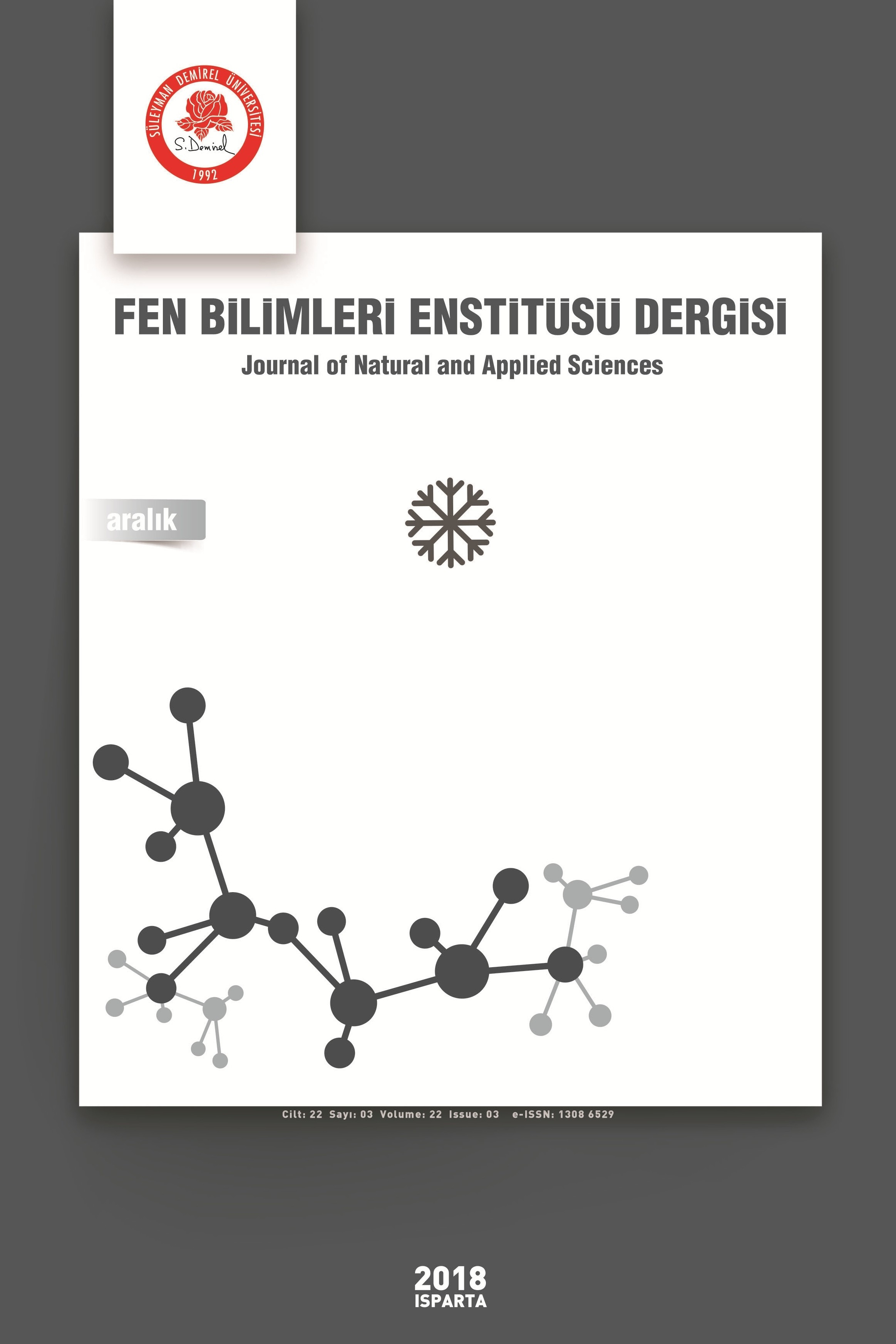 Süleyman Demirel University Journal of Natural and Applied Sciences