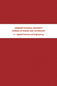 Eskişehir Technical University Journal of Science and Technology A - Applied Sciences and Engineering