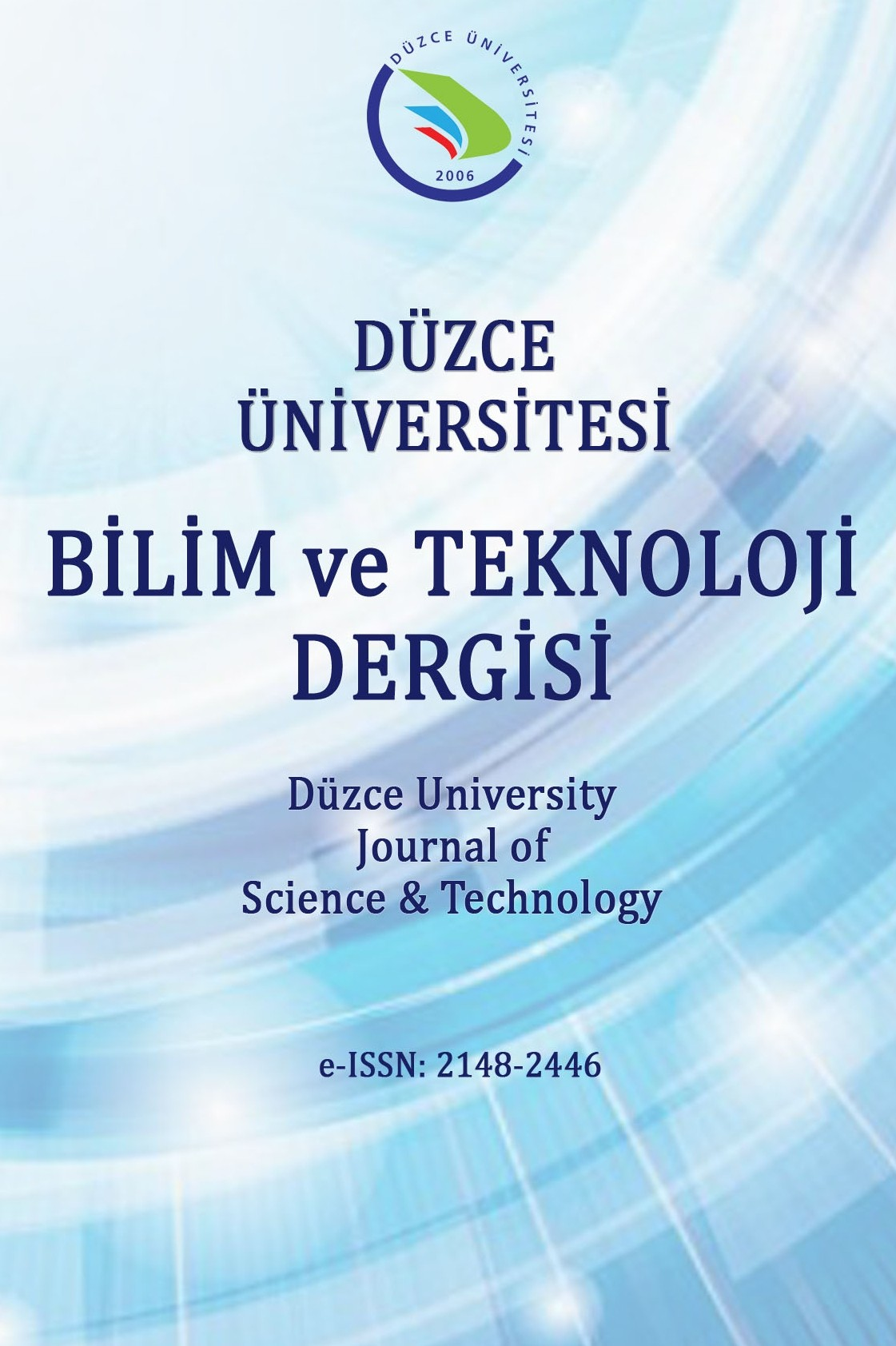 Duzce University Journal of Science and Technology